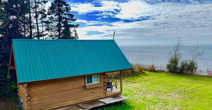Discover Kenai Glacier View Cabin on Waterfront.