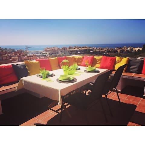 BENAJARAFE: unspoilt Costa del Sol - Benajarafe, Malaga - บ้าน