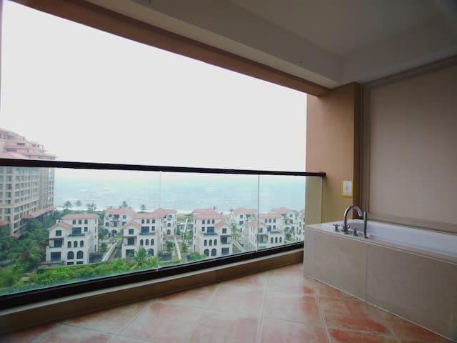 博鳌湾豪华装修一房一厅 远眺三江入海口 步行可达超市、医院、菜市场、海滩酒吧、亚洲论坛旧址D3