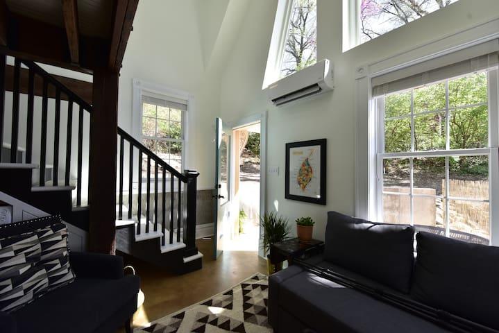 Front entrance, interior