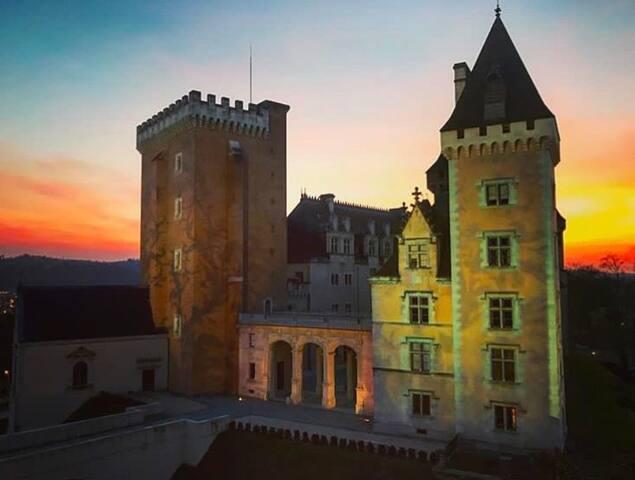 Une nuit de rêve face au Château