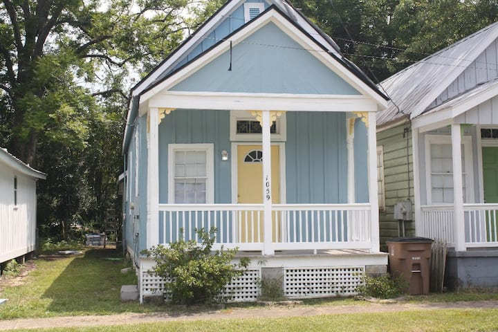 Caroline Blue Historic Shotgun House