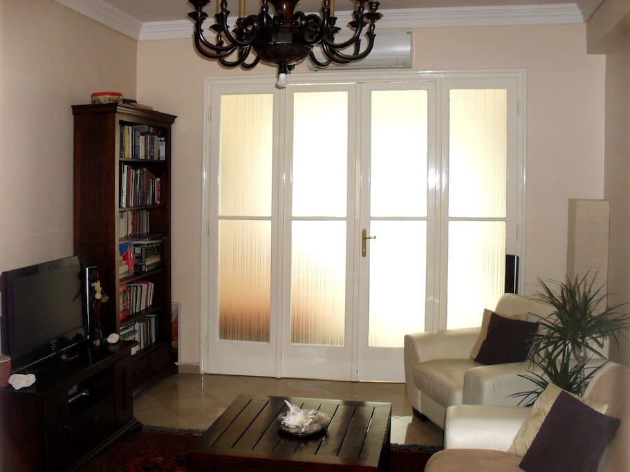 Living room daylight