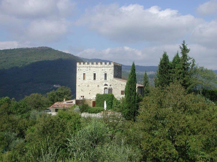 Florence-Chianti Area Chateau - Country House,