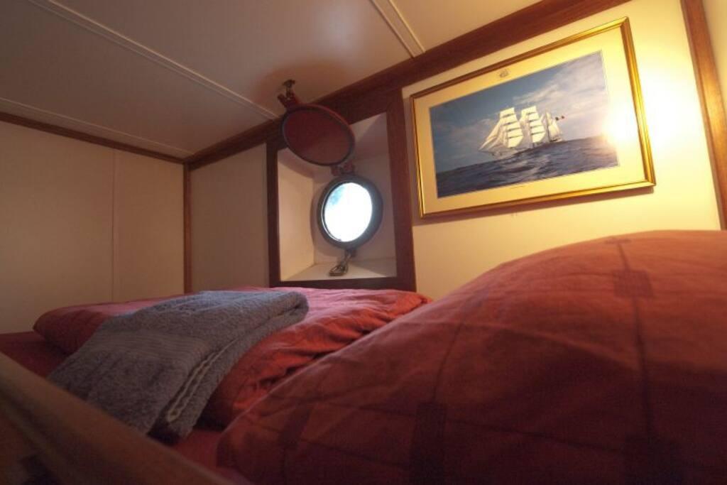 Cosy Sleeping quarters