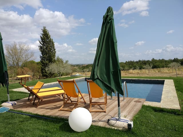 Charming 4 bedroom villa in Montepulciano with pool