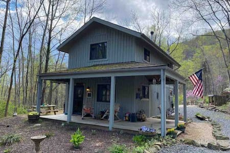 Secluded and Super Clean Cabin! Dog friendly, WIFI