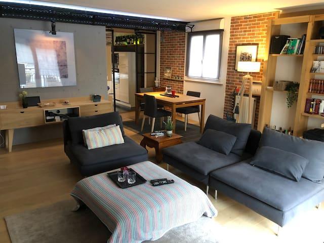 Appartement esprit Loft 81m2