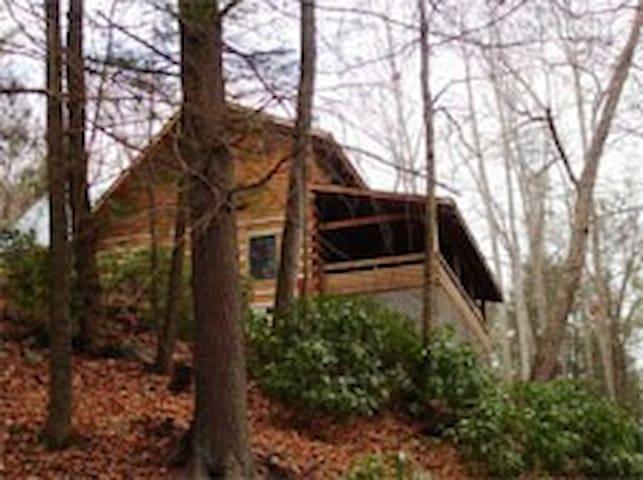 Timber Creek, 3 BR, View, 7 Acres, Creek sm Waterf - Sugar Grove - Blockhütte