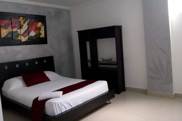 apartamento de dos habitaciones para 5 personas