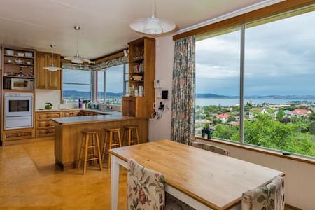 Great room with an amazing view - South Hobart - Haus