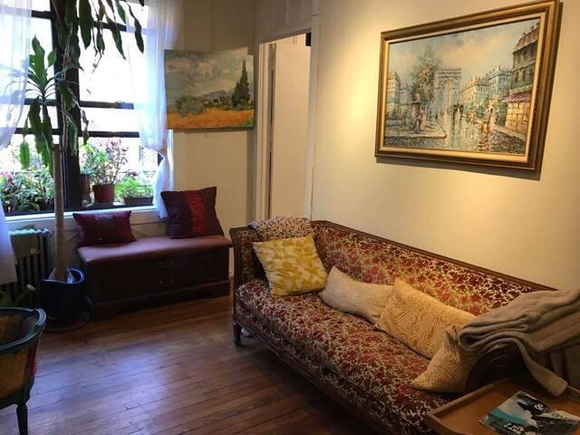 Beautiful & Cozy 2BR apt in Soho/Greenwich Village - Nova Iorque - Apartamento