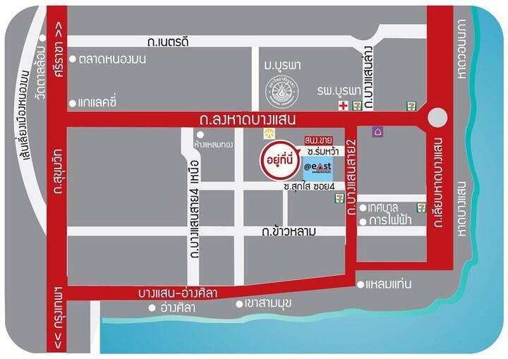 Stay safe near Bangsaen beach