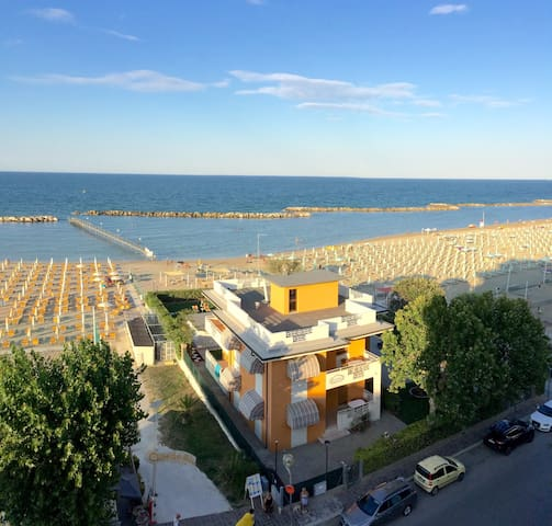 Appartamento in Villa sul Mare, terrazza privata