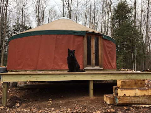 Yellow Dog Yurt - Peace and Quiet near Marquette