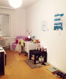 Ein Zimmer mit super Location
