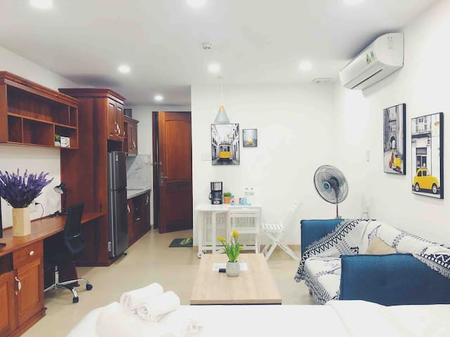 Adequate&Comfortable Studio, 5 mins to Ben Thanh