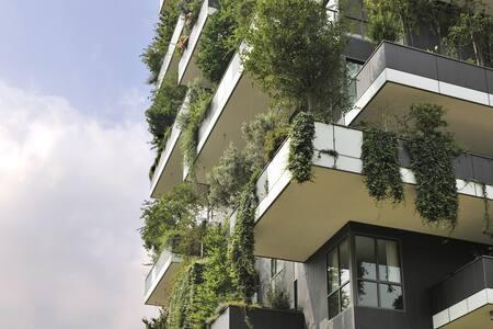 Elegant Designer Flat in Bosco Verticale