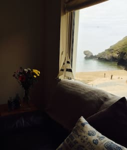 Seaside apartment almost on the beach! - Llandysul