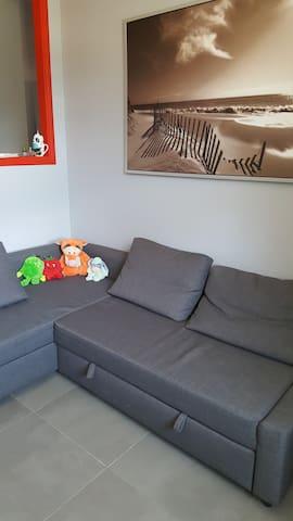 Appartement confortable dans résidence sécurisée
