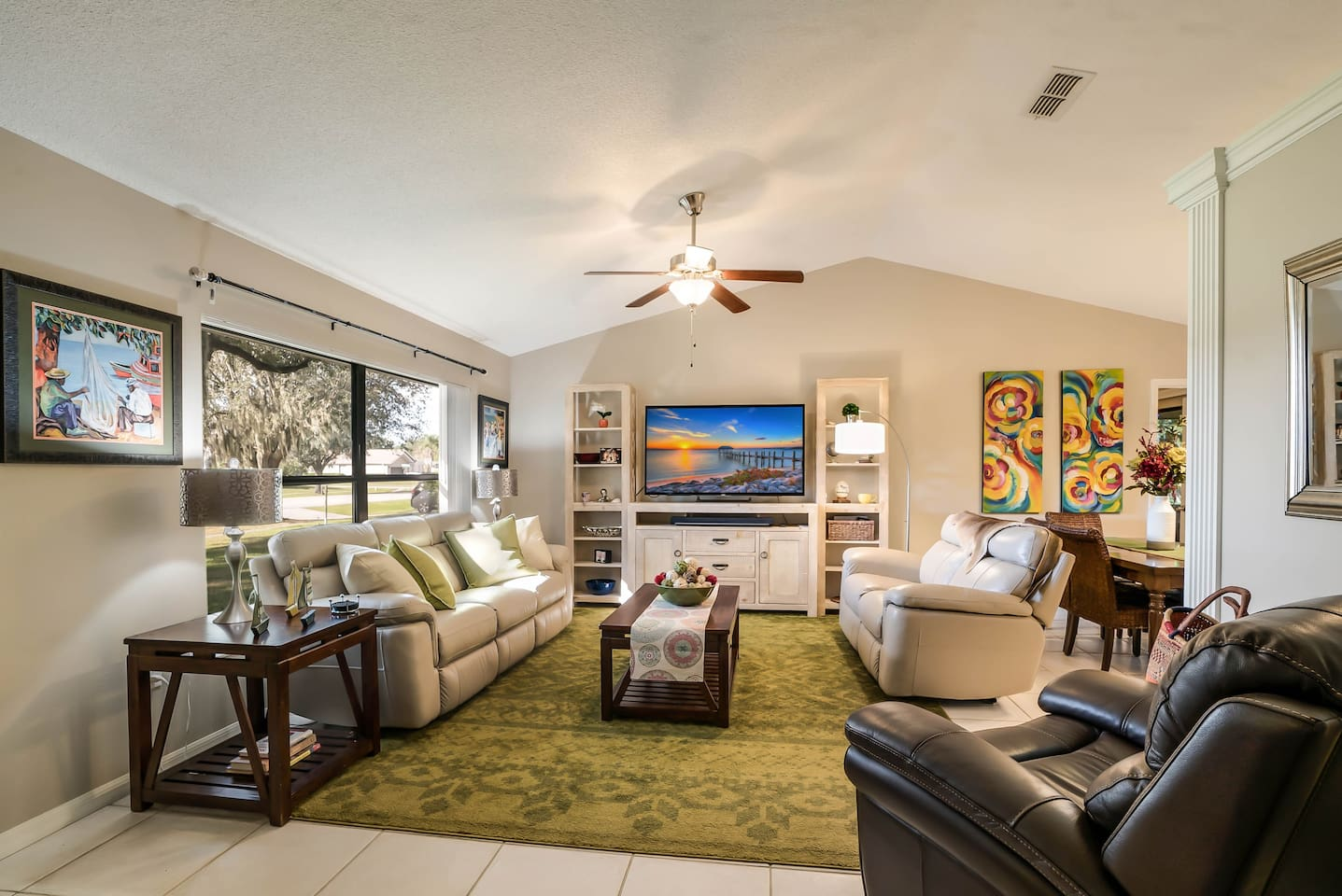 Relax in luxury! Open concept spacious living room
