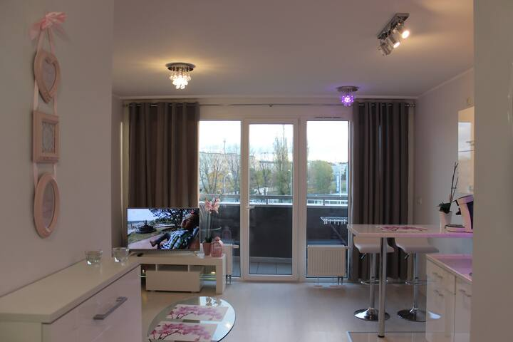 Glamour 2 room apartment + parking
