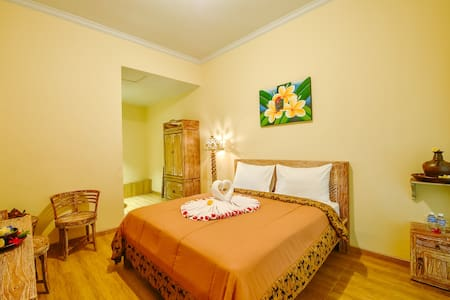 2 rooms for 4person - New&Convenient in Karangasem