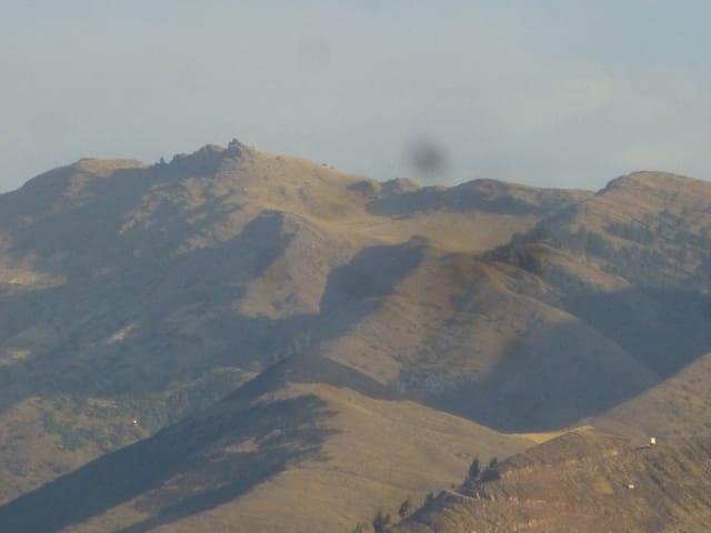 La entrada gosa de una vista panor - Cusco