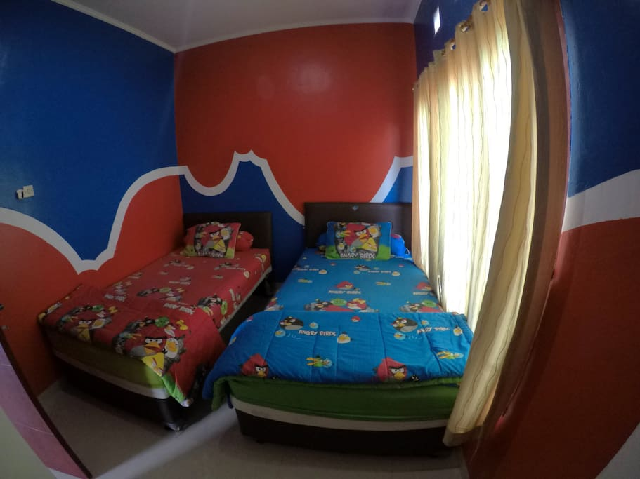 Fourth Bedroom, 2 x King Single Bed
