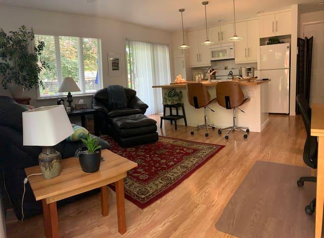 Beautful, Well Designed, Sunny Apartment/Duplex