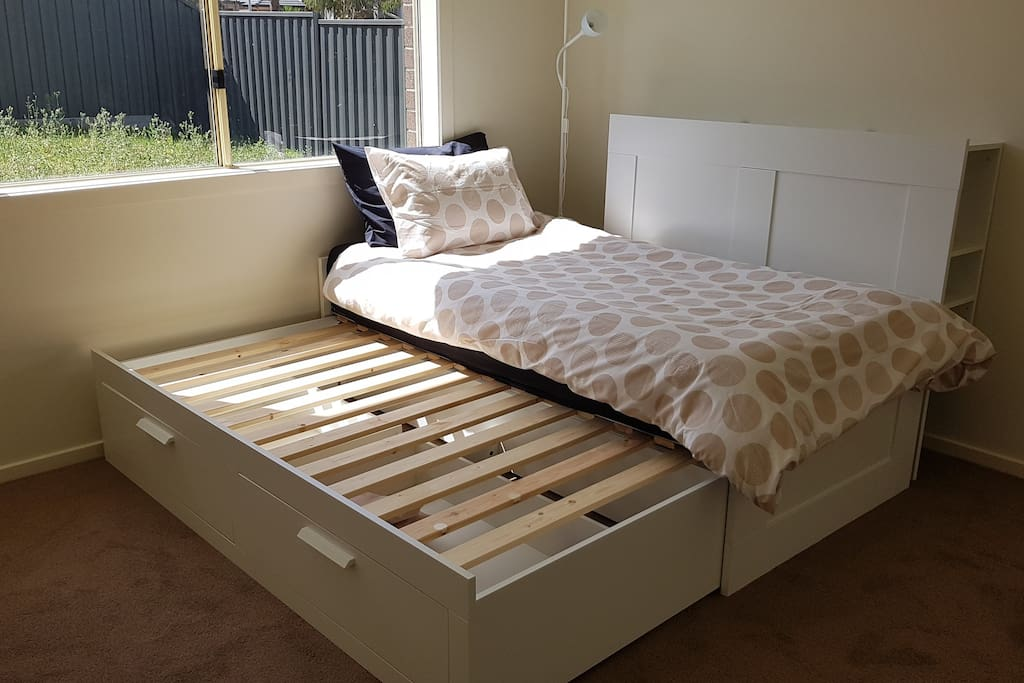 Your PRIVATE bedroom if 2 beds required