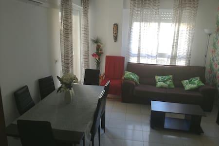 Apartamento 2 linea de playaperfecto para familias