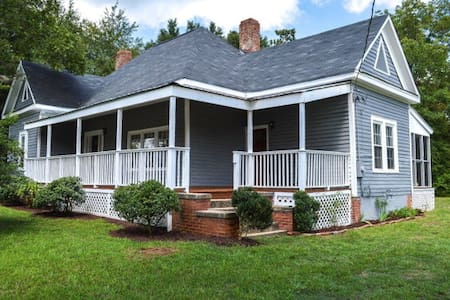 EMPTY Historic Restored Home 10 min UGA - Athens - Bishop