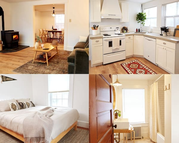 Newly renovated small town escape 3 bedroom house