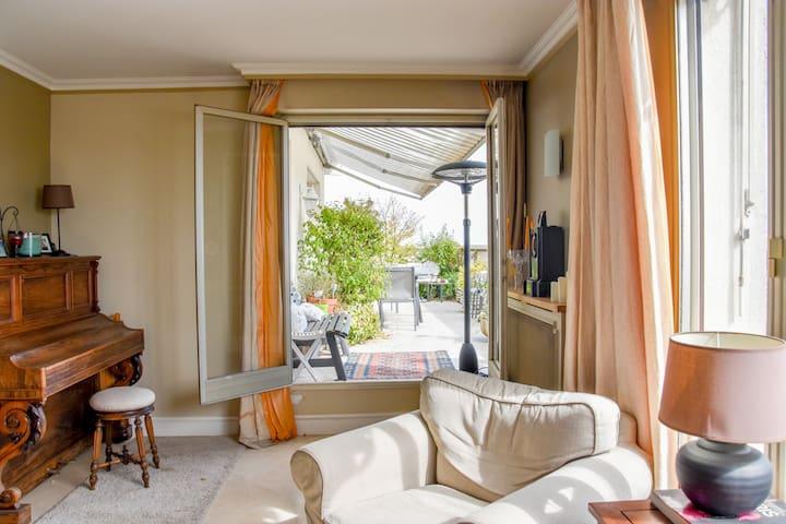 Chambre privée près de Paris - magnifique appart