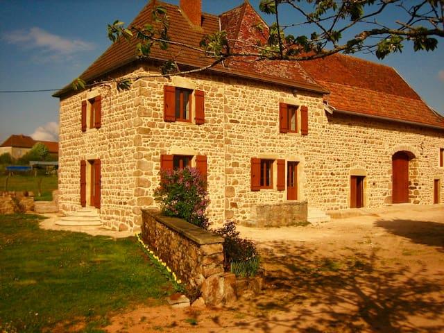 Maison au vert location A LA SEMAINE - Varennes-Sous-Dun - Casa