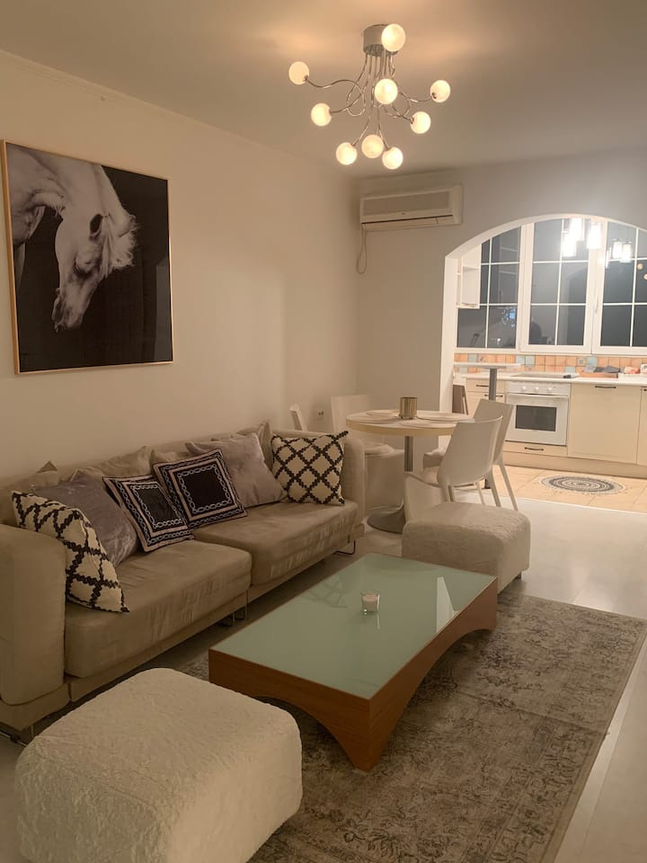 Stylish White Apartment 10