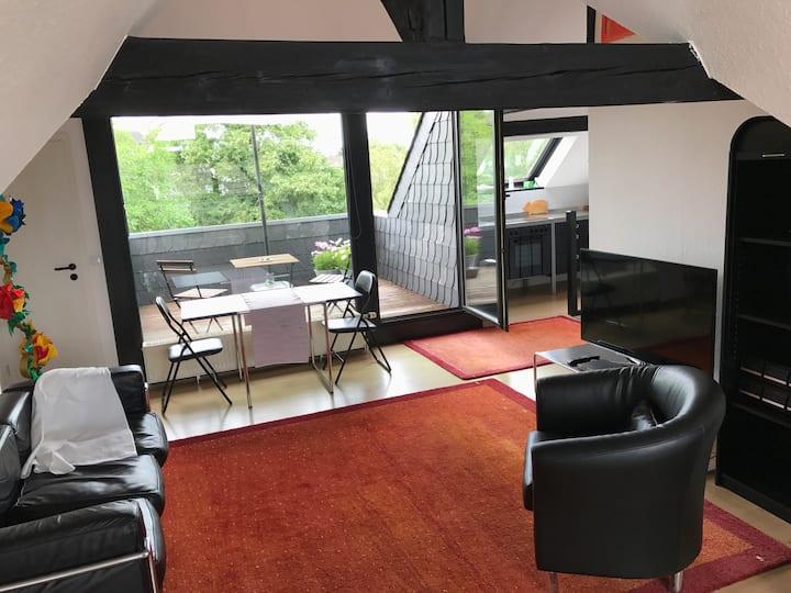Traumhaftes Maisonette Apartment mit Terrasse