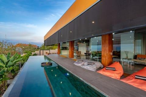 Ekskluzywna luksusowa willa z majestatycznym widokiem na morze 3BR