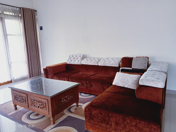Villa restu 8, bernuansa alam dgn view pegunungan
