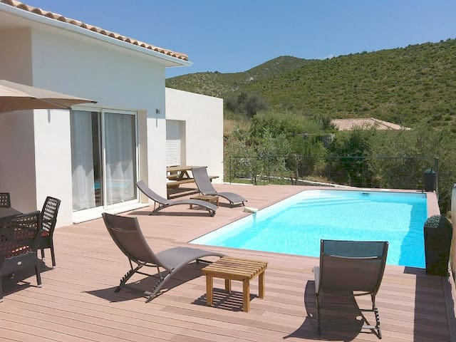 Modern Villa Saint Florent swimming pool - Saint-Florent - Dom