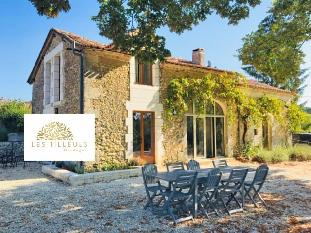 Les Tilleuls, Luxury Gite with heated pool