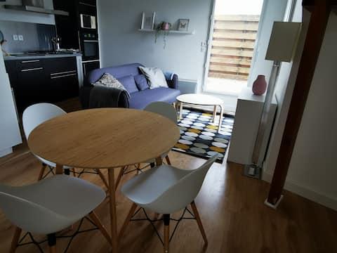 Central apartment in Montfort-sur-Meu