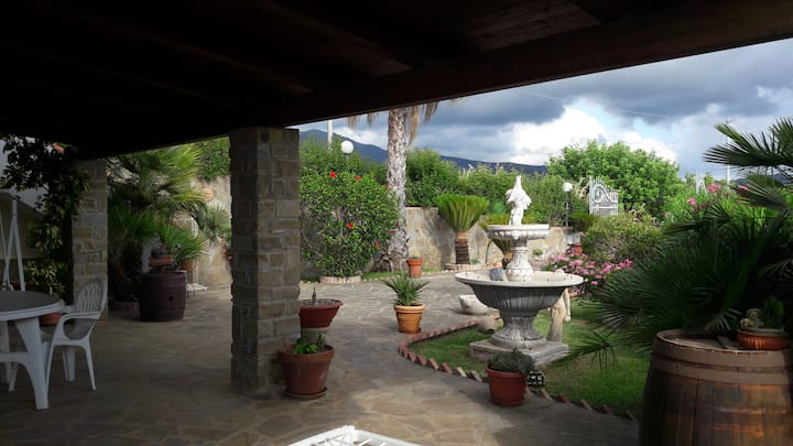 Villa ai piedi di Castellabate centro storico