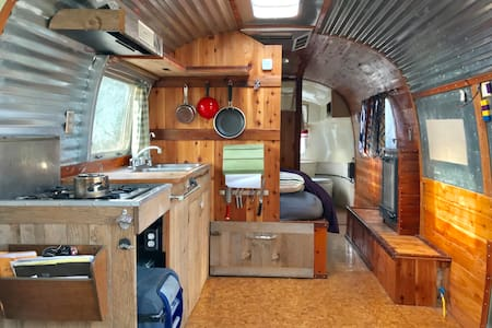 Vintage Airstream | Moab Home Base