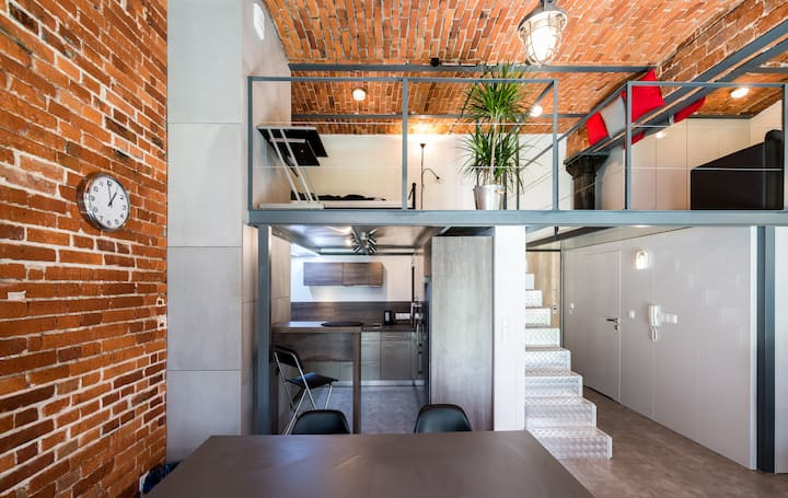 Real Loft in the center of the city