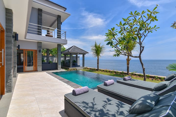 Reduce In Price 75% - Private Beachfront Villa