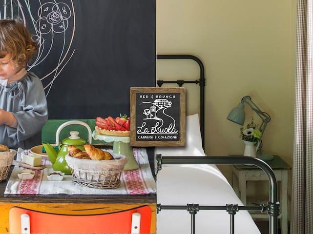 Scienze, una camera tutta natura a La Scuola B&B - Piazza Campana - Hotel boutique