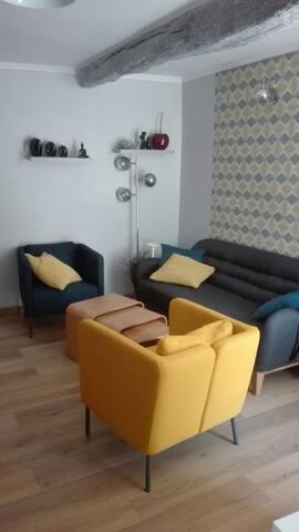 T3 moderne tout confort au centre ville de Grasse! - Grasse - Apartment