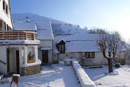 gite auberge La Soulan chambre double - Bagnères-de-Luchon - Natuur/eco-lodge